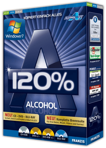 Alcohol 120% Full