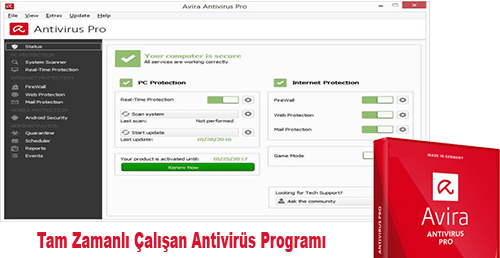 Avira Antivirüs Suite Full