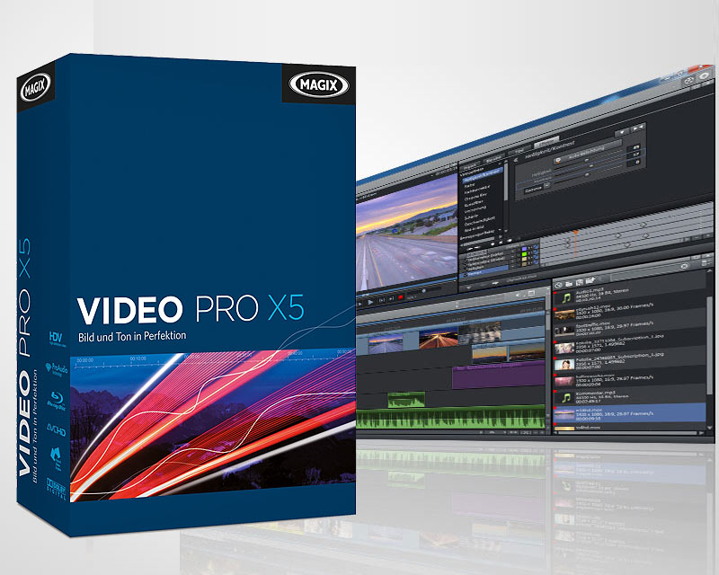 MAGIX Video Pro X7 14.0.0.145 Full indir