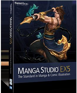Manga Studio EX 5.0.6 Full indir