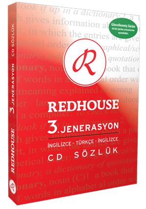 Redhouse 3.1.1 İngilizce - Türkçe Sözlük Full indir