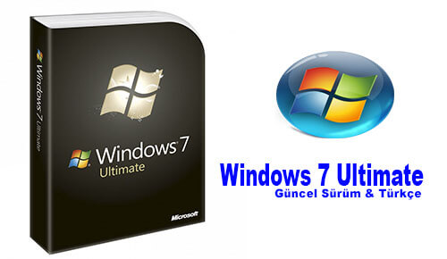 Windows  Ultimate Sp turkce full indir