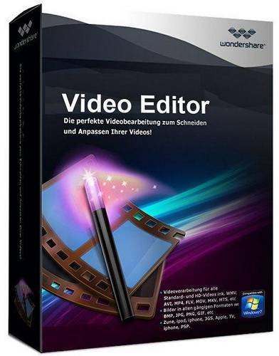 Wondershare Video Editör 5.1.3.15 Full indir