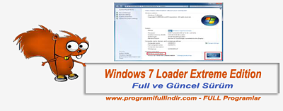 Windows 7 Loader Extreme Edition v3 Full 2016 indir