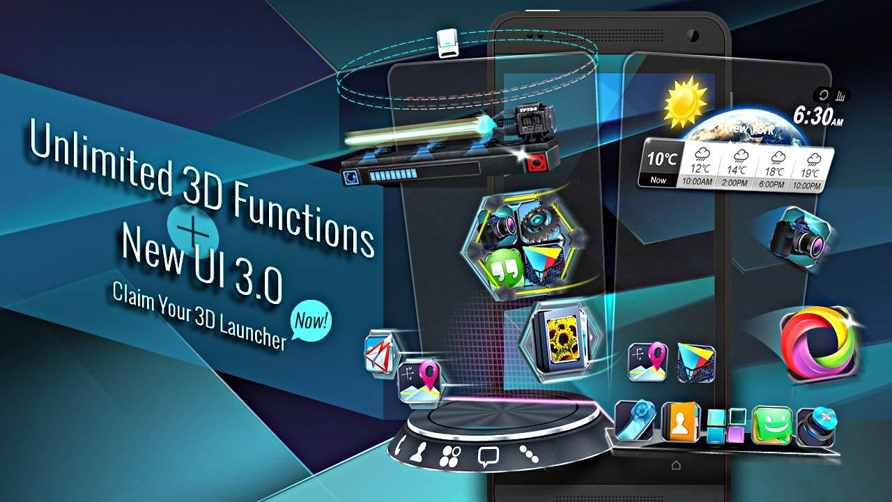 Next Launcher 3D Shell Full
