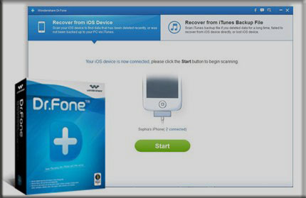 Wondershare Dr Fone for iOS Full indir