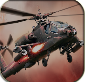 gunship battle helicopter d mod apk android full indir