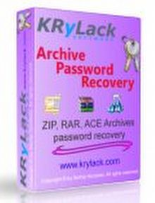 winrar sifre kirma programi KRyLack RAR Password Recovery full indir