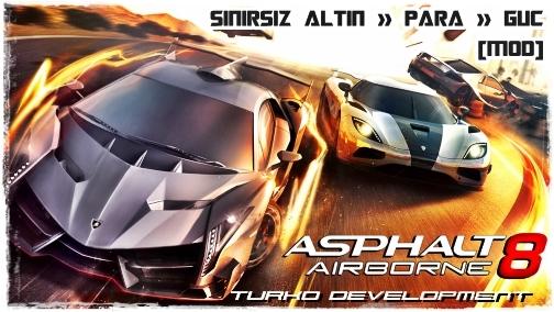 Asphalt 8 Türkçe Apk Full
