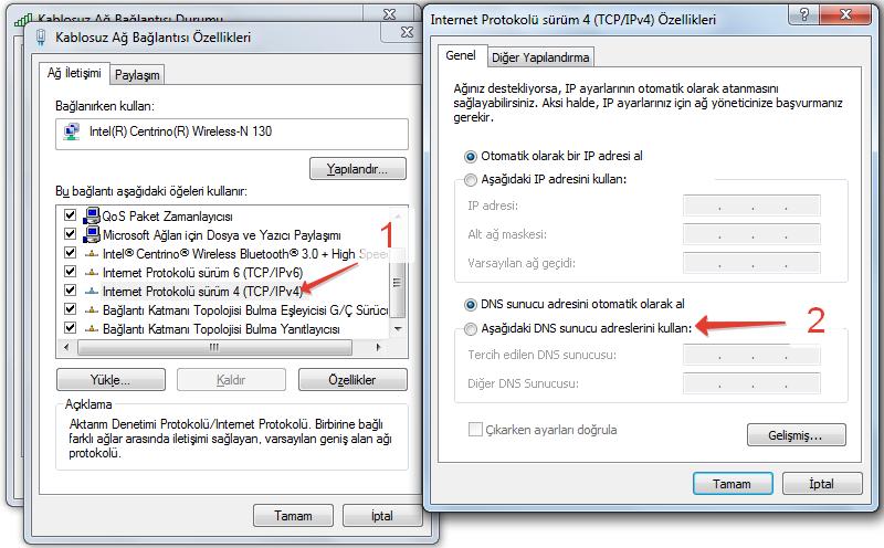 DNS Değiştirme Görüntü 3