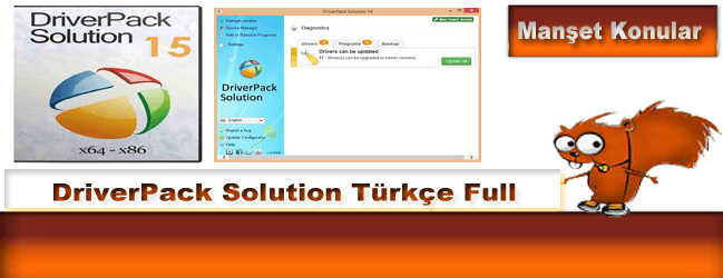 DriverPack Solution 17.6.20 Türkçe Full indir