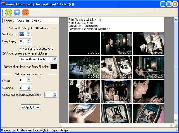 Video Snapshots Genius v3.0.1 Full indir