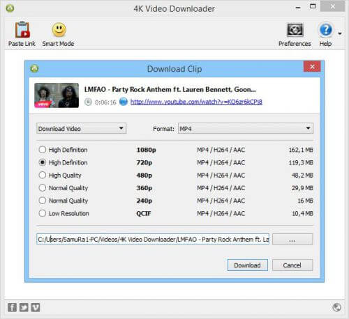 K Video Downloader full indir