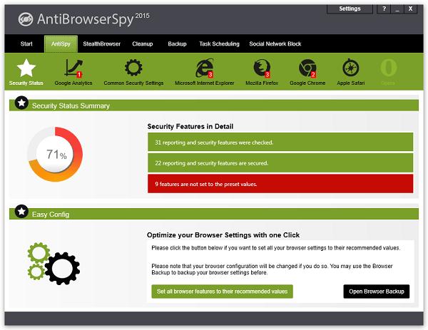 Abelssoft AntiBrowserSpy Pro Full indir