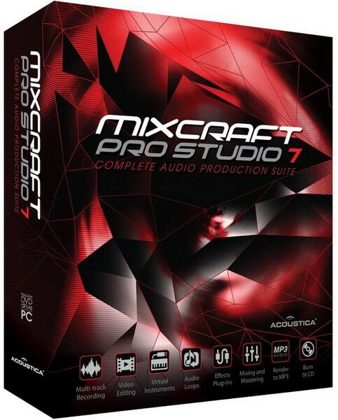 Acoustica Mixcraft Pro Studio full indir
