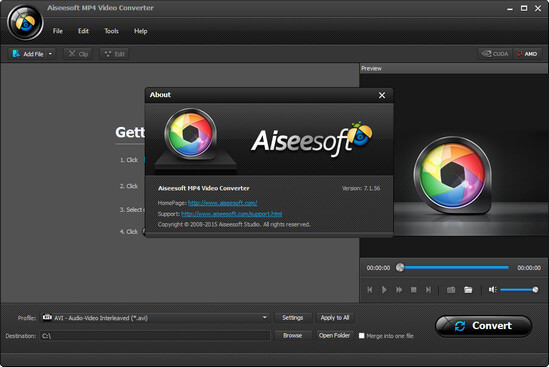 Aiseesoft MP4 Video Converter indir