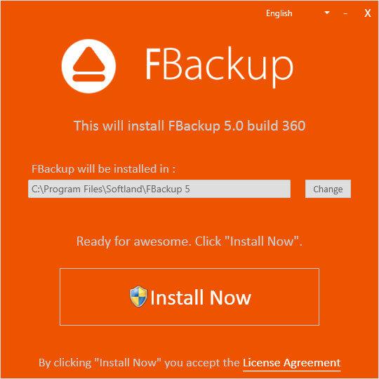 FBackup Türkçe Full