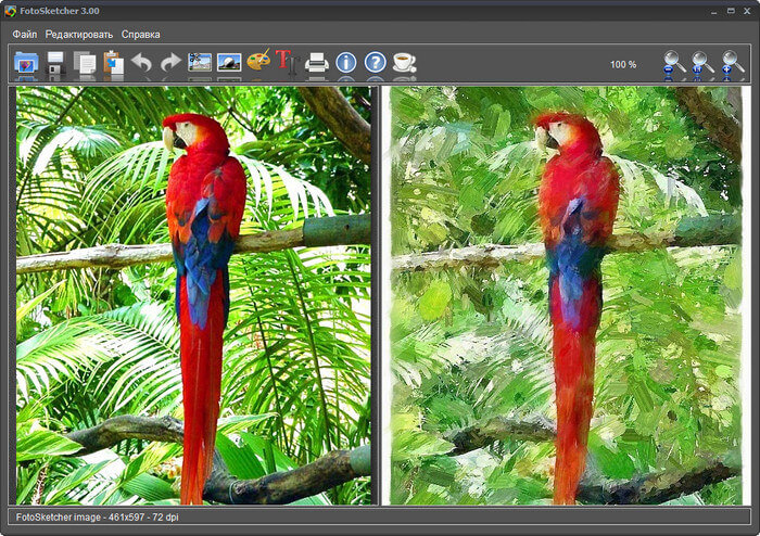 Fotosketcher Full