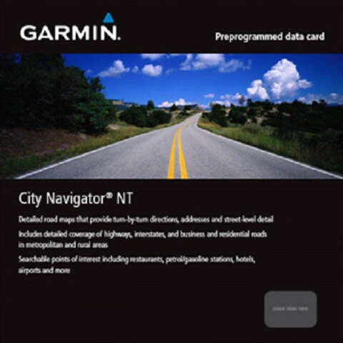 Garmin City Navigator Turkey NT 2016.20 Türkçe Full indir
