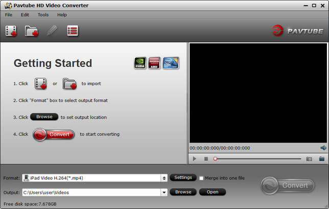Pavtube HD Video Converter Full indir