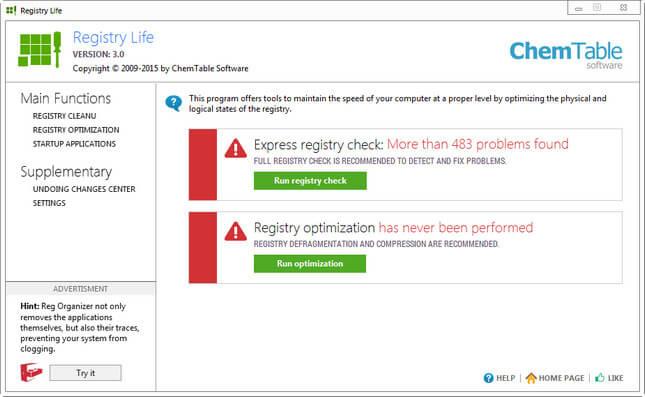 Registry Life Full indir