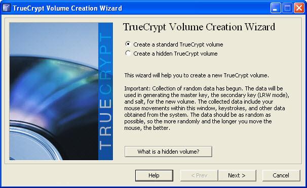 TrueCrypt v7.2 Türkçe Katılımsız Full indir