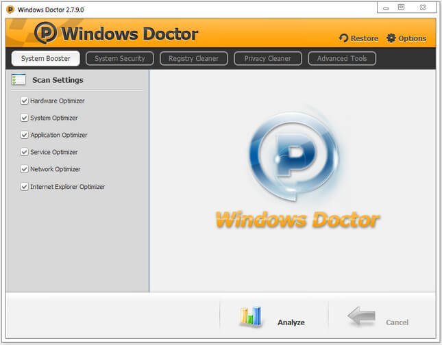 Windows Doctor Türkçe Full