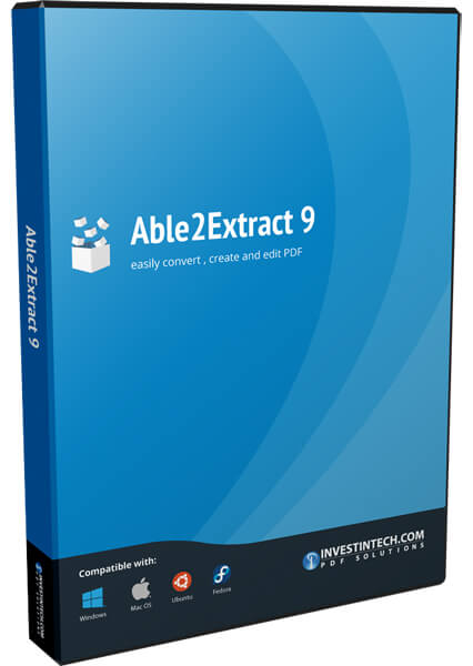 Able2Extract PDF Converter Full