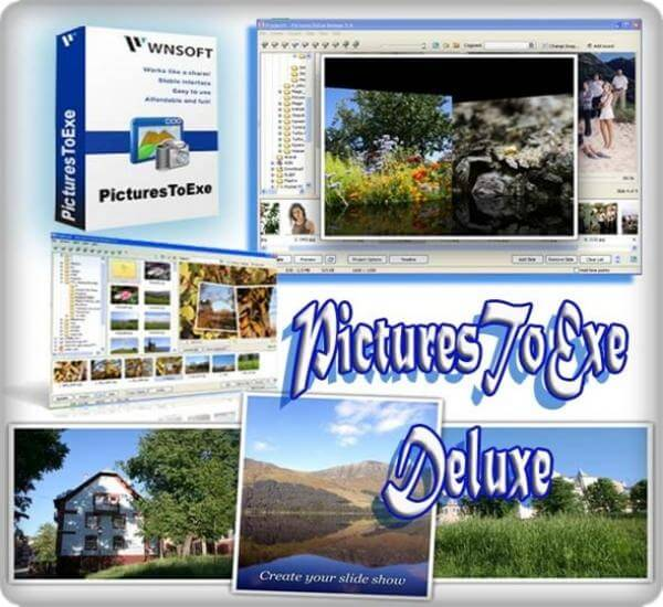 PicturesToExe Deluxe Full indir