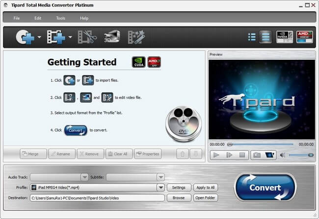 Tipard Total Media Converter Platinum Full indir