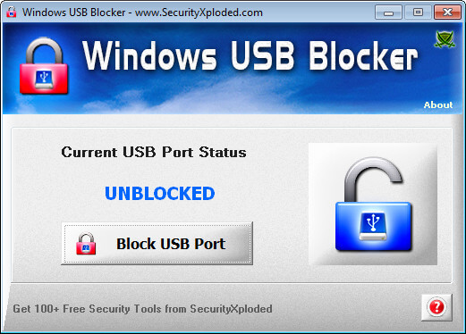 Windows USB Blocker Full