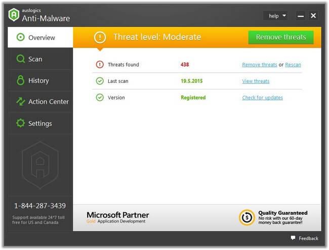 Auslogics Anti Malware full indir