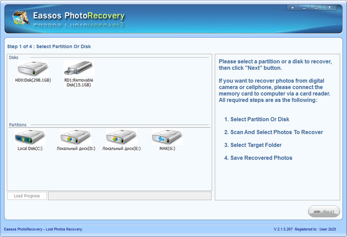 Eassos Photo Recovery Full
