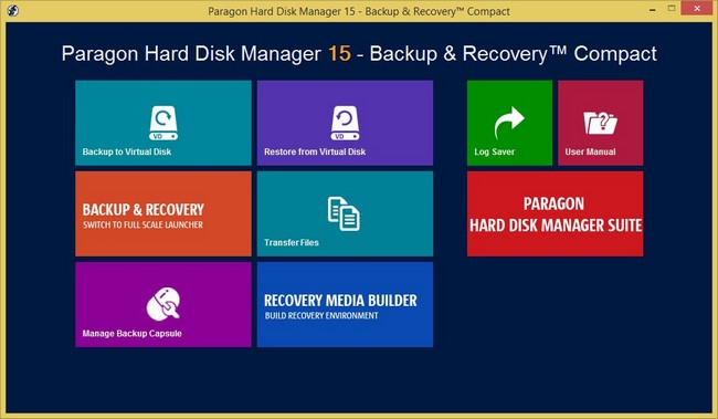 Paragon Hard Disk Manager Full indir