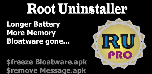 Root Uninstaller Pro apk full
