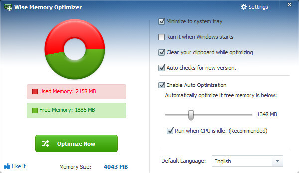 Wise Memory Optimizer Full indir