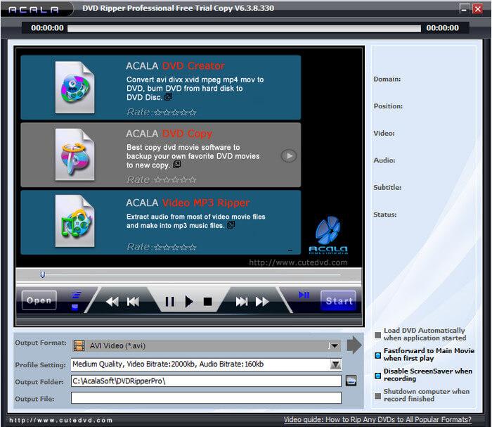 Acala DVD Ripper Pro Full indir