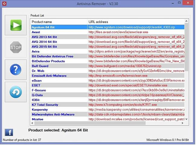 Antivirus Remover full indir