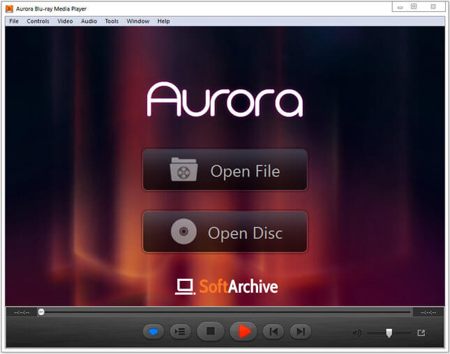 Aurora Blu-ray Media Player Full