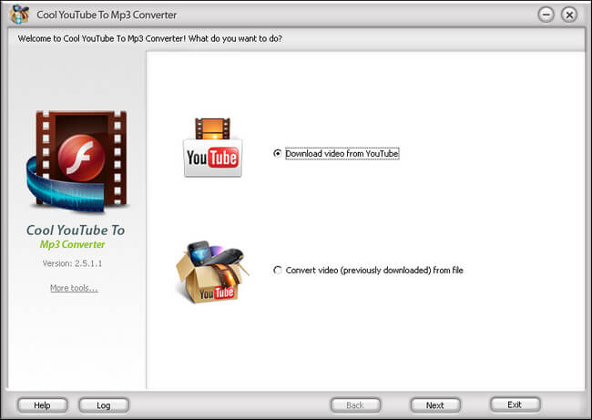 CoolMedia Cool YouTube To Mp3 Converter 9.04 Full indir