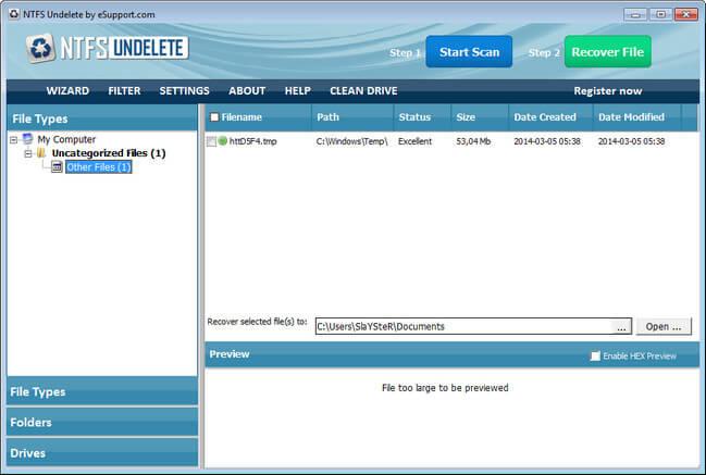 NTFS Undelete Full indir