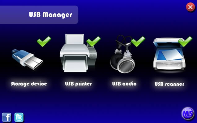 USB Manager full indir