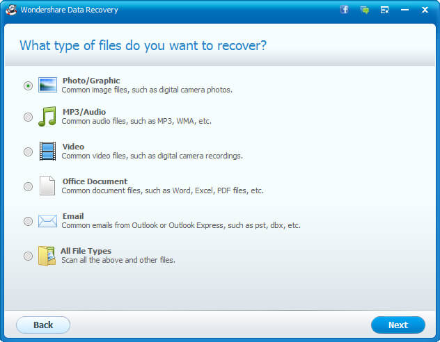 Wondershare Data Recovery Full indir