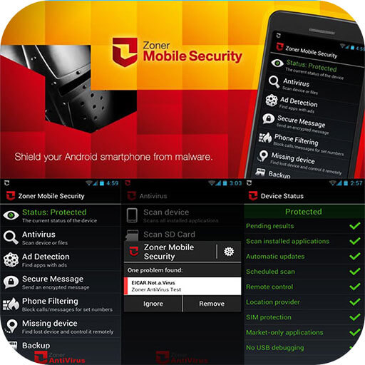 Zoner Mobile Security APK Full