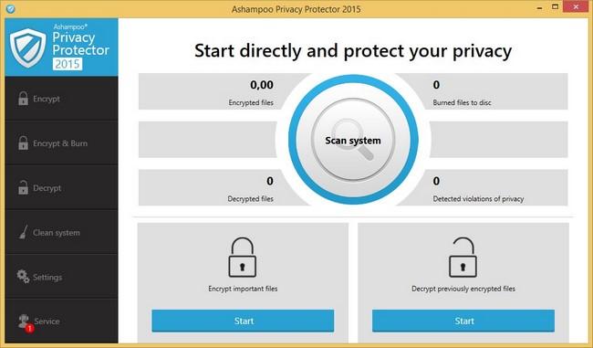 Ashampoo Privacy Protector full indir