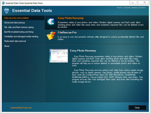 Essential Data Tools Full
