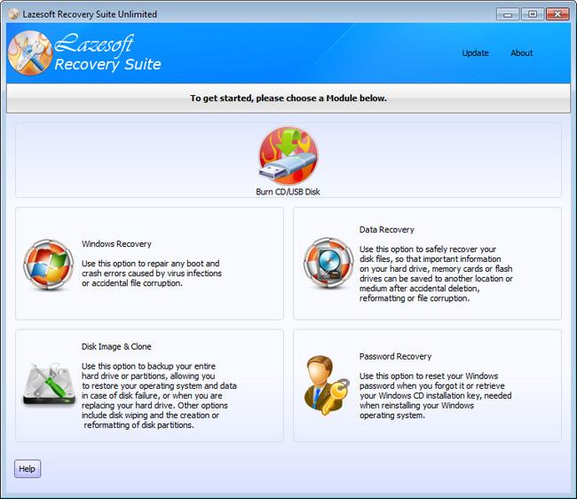 Lazesoft Recovery Suite full yedekleme programi indir
