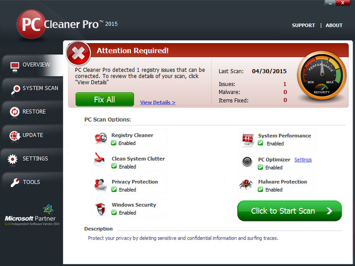 PC Cleaner Pro full indir