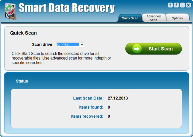 Smart Data Recovery full indir