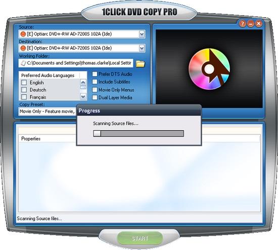 CLiCK DVD Copy Pro Full indir